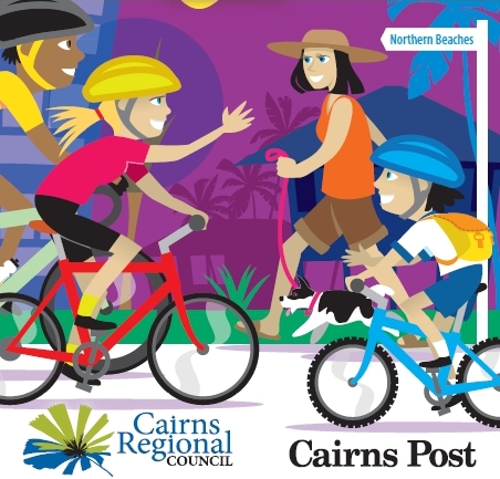 Cairns cycle map