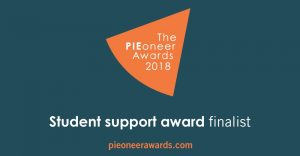 PIE awards finalist